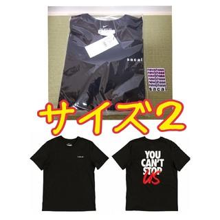 サカイ(sacai)の【値下げ可!】サイズ2 sacai NIKE Customized Tシャツ(Tシャツ/カットソー(半袖/袖なし))