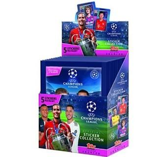 Topps 2019-20 UEFA チャンピオンズリーグ ステッカー 未開封(Box/デッキ/パック)
