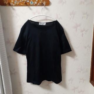 ジェラルドジェンタ(Gerald Genta)のジェラールダレル(GERARD DAREL)黒カットソー Tシャツ(Tシャツ(半袖/袖なし))