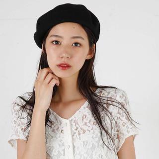 マウジー(moussy)の美品 moussy ベレー帽(ハンチング/ベレー帽)