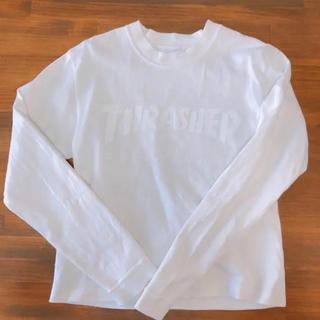 スラッシャー(THRASHER)のTHRASHER スラッシャー ロンT 美品(Tシャツ/カットソー(七分/長袖))