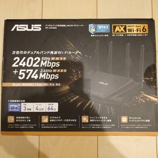 エイスース(ASUS)のRT-AX3000 ASUS Wi-Fi 無線LANルーター(PC周辺機器)