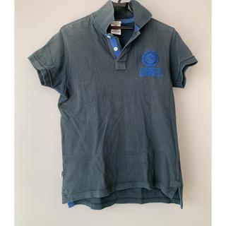 フランクリンアンドマーシャル(FRANKLIN&MARSHALL)の【新品】FRANKLIN MARSHALL ポロシャツ ネイビー(ポロシャツ)