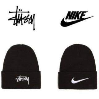 ステューシー(STUSSY)のStussy Nike Cuffed Beanie 新品未使用(ニット帽/ビーニー)