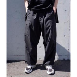 イズネス(is-ness)のis-ness so john wide 6pocket pants Lサイズ(ワークパンツ/カーゴパンツ)
