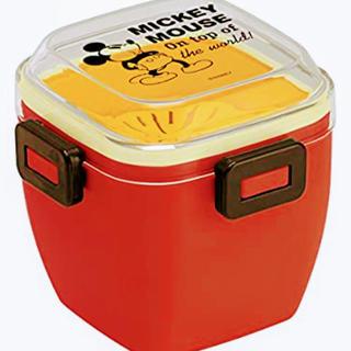 ミッキーマウス(ミッキーマウス)のベストセラー2個セット!ふんわり盛れる弁当箱620mlミッキーチアフルディズニー(弁当用品)