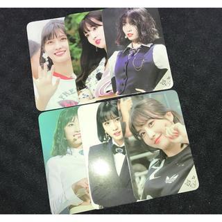 ウェストトゥワイス(Waste(twice))のTWICE モモ MOMO サイン入りトレカ 6枚(K-POP/アジア)