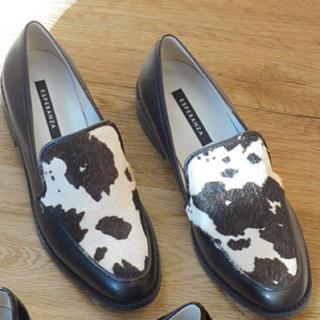 エスペランサ(ESPERANZA)のエスペランサ 限定ダルメシアン柄ローファー(ローファー/革靴)