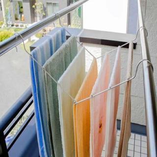ベルメゾン(ベルメゾン)の物干し竿に渡せるタオルハンガー(日用品/生活雑貨)