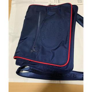 シュプリーム(Supreme)のSupreme Lacoste Small Messenger Bag  紺色(メッセンジャーバッグ)