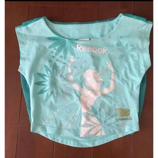 リーボック(Reebok)の新品タグ付き!Reebok ディズニー アナと雪の女王 カットソー◇サイズ100(Tシャツ/カットソー)