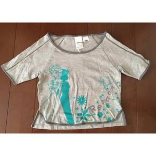 リーボック(Reebok)の新品タグ付き!Reebok ディズニー アナと雪の女王 Tシャツ◇サイズ140(Tシャツ/カットソー)