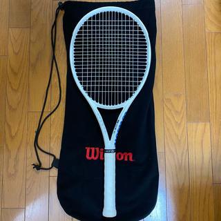 ウィルソン(wilson)のウィルソン テニスラケットULTRA 100 L White in White (ラケット)