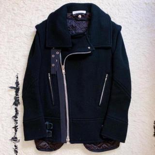 サカイ(sacai)のsacai🍒ファー付き 3wayウールジャケット(テーラードジャケット)