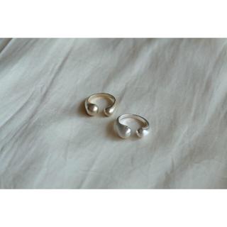 イエナスローブ(IENA SLOBE)の専用🌟open ring+namiring+minimame(シルバー)(リング(指輪))