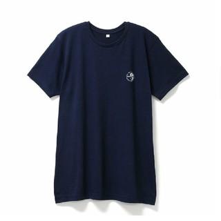 タウンアンドカントリー(Town & Country)の【新品・未使用】T&C クルーネックTシャツ 半袖 ネイビー LL(Tシャツ/カットソー(半袖/袖なし))
