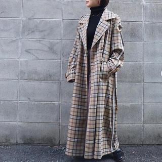 アメリヴィンテージ(Ameri VINTAGE)のAMERI PASS CODE CHECK COAT(トレンチコート)