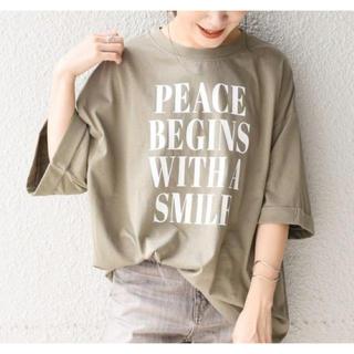 シップスフォーウィメン(SHIPS for women)のSHIPS WOMEN 81BRANCAフォトビッグTEE(Tシャツ(半袖/袖なし))