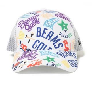 ビームス(BEAMS)のビームスゴルフ マルチロゴ NEW ERA×BEAMS GOLF キャップ ①(その他)