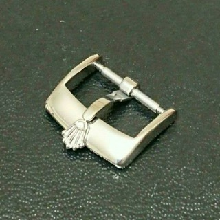 ロレックス(ROLEX)の値下げ 未使用品 ROLEX 尾錠 シルバー 16ミリ(レザーベルト)