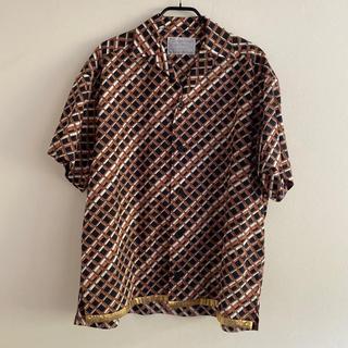 カラー(kolor)のkolor 20ss オーバーサイズシャツ サイズ2 ブラウン(シャツ)