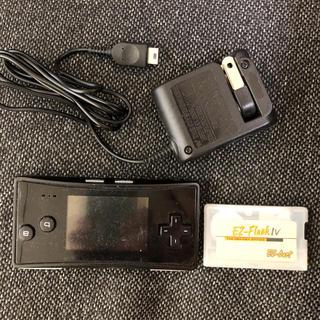 ゲームボーイアドバンス(ゲームボーイアドバンス)のゲームボーイ ミクロ gameboy micro ezflash4セット(携帯用ゲーム機本体)