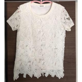 チェスティ(Chesty)のHIAND カットレースTシャツ(Tシャツ(半袖/袖なし))