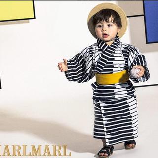 ビームス(BEAMS)のマールマール 浴衣 キッズ浴衣 シンプル お洒落(甚平/浴衣)