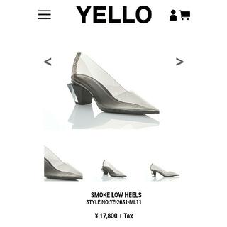 イエローブーツ(Yellow boots)のyello smoke low heels(ハイヒール/パンプス)
