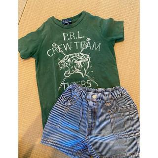 ポロラルフローレン(POLO RALPH LAUREN)の110センチpoloのkidsTシャツと短パンセット(その他)
