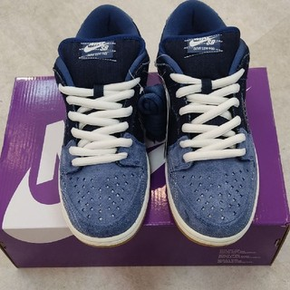 ナイキ(NIKE)のNIKE SB DUNK LOW PRM Denim Gum 刺し子(スニーカー)