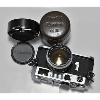 キヤノン(Canon)の★送料込★キャノン7S 後期型 +  純正レンズ 50mm F1.2(フィルムカメラ)