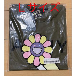新品 OVO X MURAKAMI T-SHIRT 村上隆 オリーブ(Tシャツ/カットソー(半袖/袖なし))