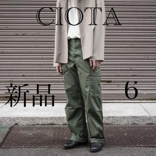 CIOTA / スビンコットン ウェザー ジャングルファティーグパンツ 6(ワークパンツ/カーゴパンツ)