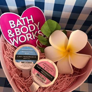 バスアンドボディーワークス(Bath & Body Works)の♡BBW人気のカーフレグランスレフィル二個♡(車内アクセサリ)