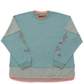 ハレ(HARE)のLEFT ALONE (レフトアローン)/ LAYERED DACHS (Tシャツ/カットソー(七分/長袖))