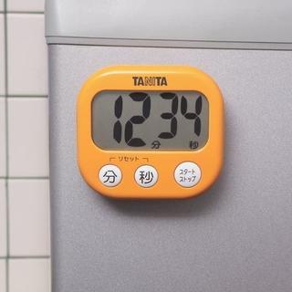 タニタ(TANITA)のTANITAデジタルタイマー でか見えタイマー TD-384(その他)
