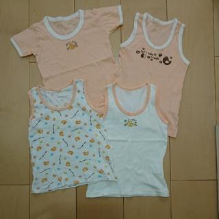 ニッセン(ニッセン)のサイズ95☆シャツ4枚セット(下着)