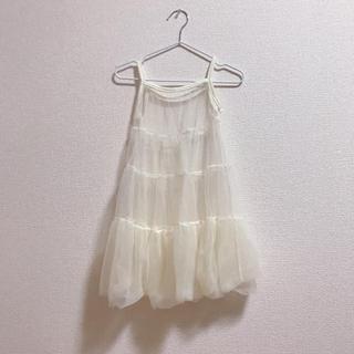 プティマイン(petit main)の韓国子供服 シフォンワンピース(ワンピース)