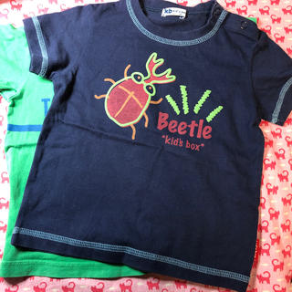 サンカンシオン(3can4on)の2枚セット⭐️キッズベビー⭐️半袖Tシャツ(Tシャツ/カットソー)
