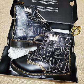 ドクターマーチン(Dr.Martens)のドクターマーチン×バスキア 27cm UK8 コラボ 8ホール ブーツ(ブーツ)