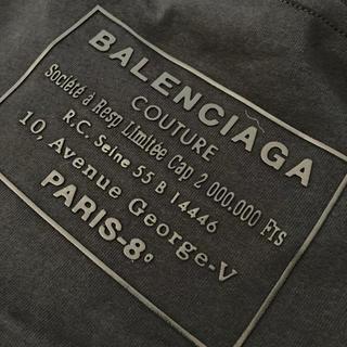 バレンシアガ(Balenciaga)のバレンシアガ  Tシャツ バックプリント(Tシャツ/カットソー(半袖/袖なし))