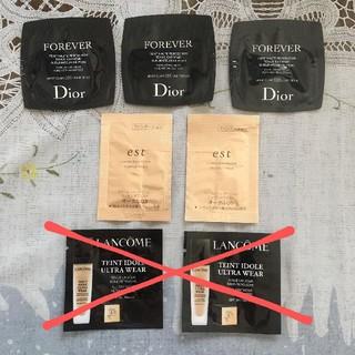 エスト(est)のサンプル Dior est  ファンデーション(サンプル/トライアルキット)