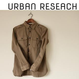 アーバンリサーチ(URBAN RESEARCH)の専用♡ミリタリー ジャケット カーキ(シャツ/ブラウス(長袖/七分))