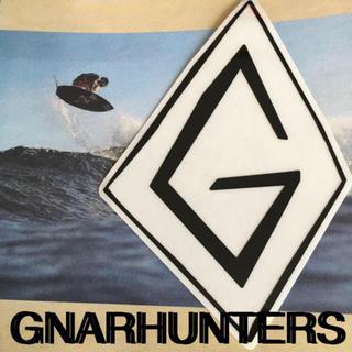 ロンハーマン(Ron Herman)のGNARHUNTERS ナーハンターズUS限定激レアGアイコンステッカー ラス1(サーフィン)