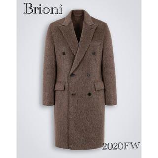 グッチ(Gucci)のブリオーニ  限定ダブルブレスト コート グレーサイズ(チェスターコート)