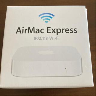 マック(Mac (Apple))のAirMac Express  802.11n Wi -Fi(PC周辺機器)
