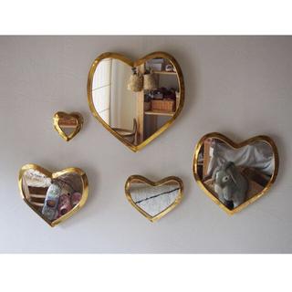 フランフラン(Francfranc)のlove meHeart mirror モロッコ ハートミラー(壁掛けミラー)
