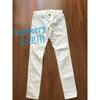 バーバリーブルーレーベル(BURBERRY BLUE LABEL)のBURBERRYホワイトデニム(デニム/ジーンズ)