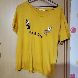 チップアンドデール(チップ&デール)のチップとデール Tシャツ トップス(Tシャツ(半袖/袖なし))